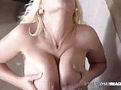 Private Black Blonde Fesser Gets Face & Pussy Fucked By BBC!
