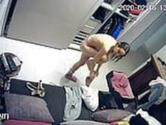 Hidden camera.Mom spills spying on her
