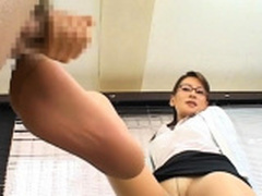 Nude gal leaves lustful teacher to bang her hard