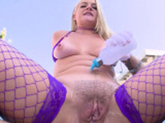 ALL ANAL Bubble butt stuffing with Candice and Lisey