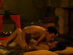 Passionate Indian Couple Making Extreme Love Together