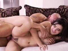 chums step sisters caught by daddy Rough orgy for